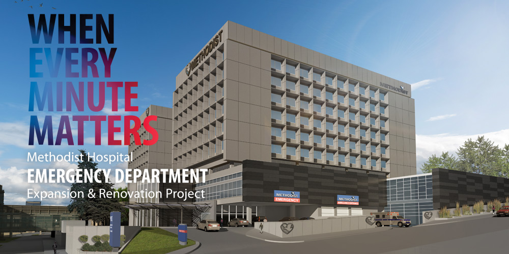 When every minute matters: Methodist Hospital Emergency Department Expansion & Rennovation Project